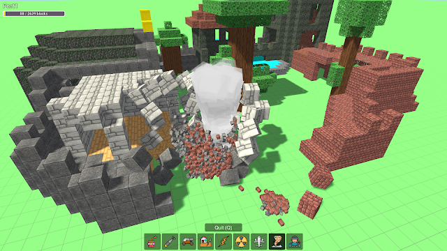 Build and Crush Minecraft - Play Online Free Game