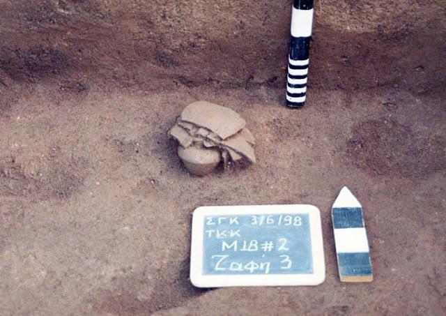 Κοσμήματα σε καύσεις παιδιών στην Κοζάνη της Νεολιθικής Εποχής