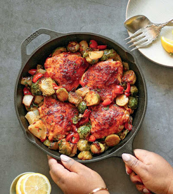 Harissa Chicken Dinner Recipe
