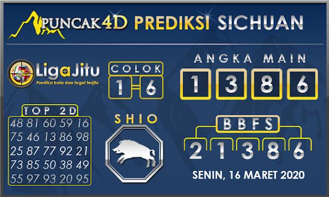 PREDIKSI TOGEL SICHUAN PUNCAK4D 16 MARET 2020
