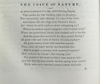The Voice of Nature from an 1840 issue of the Dartmouth student newspaper