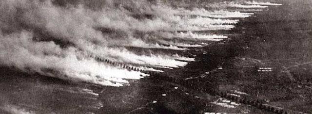 Bitwa pod Ypres. Pierwsze użycie broni chemicznej.