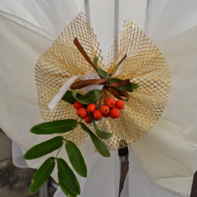Флористические украшения - рябинка
