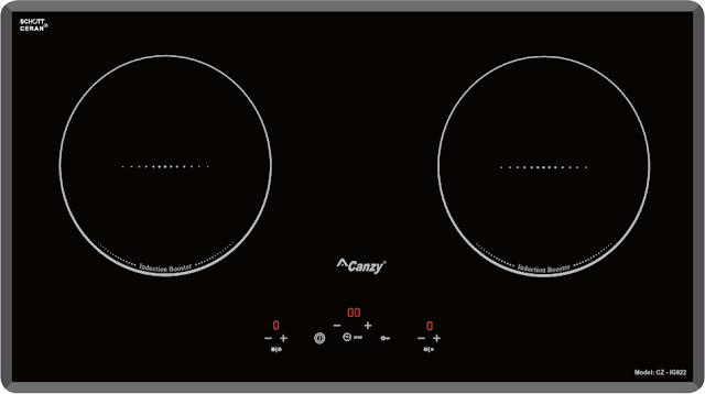 Bếp từ đôi Canzy CZ-IG822 (Tây Ba Nha)