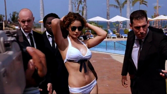 Kangana Ranaut poses in bikini