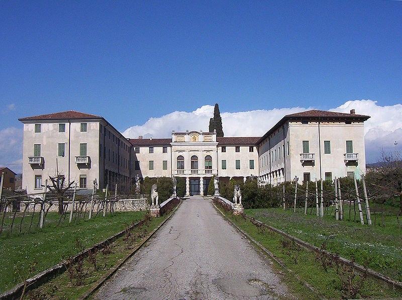 Angelia's villa in northen iIaly worth $40 million.