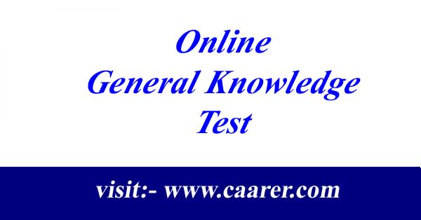 Online General Knowledge Test