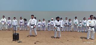 Jelang Dandim Cup, Kodim 1011/Klk Siapkan Karateka Binaan