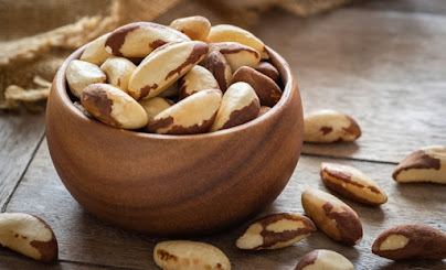 Kacang almond makanan berprotein tinggi
