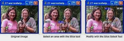 photoshop  Slice Tool
