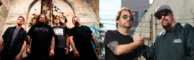 Suicidal Tendencies y Napalm Death juntos en un mismo show