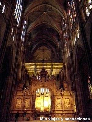 El Trascoro, La Catedral de León
