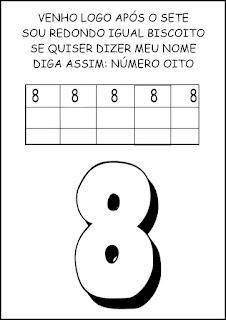 Atividades Numerais - Atividades com Números - Educação Infantil 8