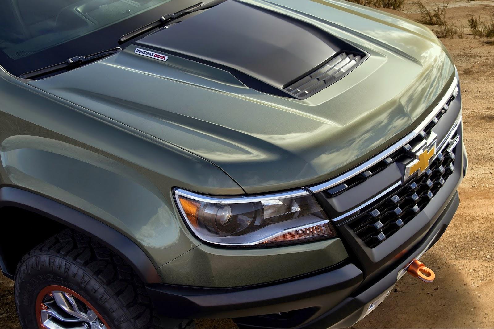 Colorado chevy colorado zr2 concept : uautoknow.net: Chevrolet Colorado ZR2 Concept foreshadows possible ...