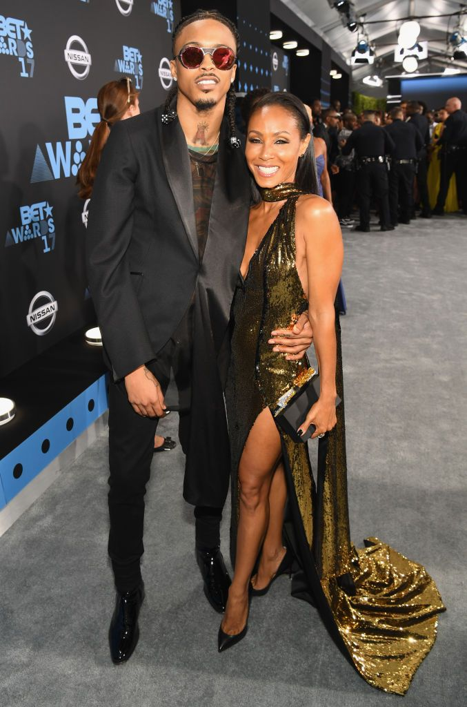 j2 - Jada Pinkett Smith confirms romance with August Alsina however says she and Will have been separated on the time