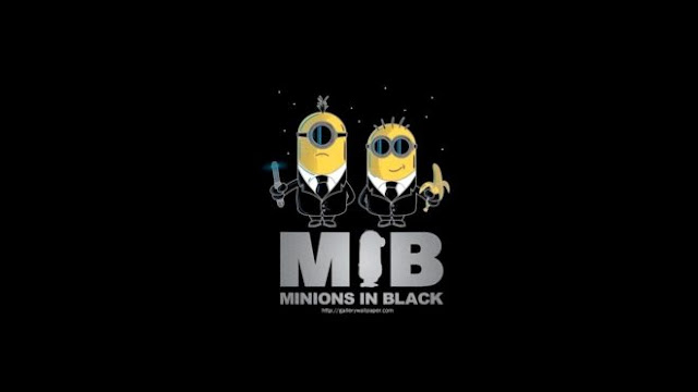 minion Man In Black HD Wallpapers