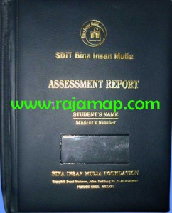 Map Raport / Sampul Raport (RPT-002)