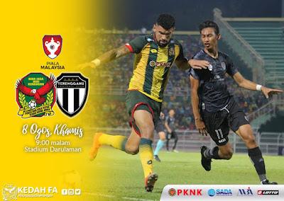 Live Streaming Kedah vs Terengganu 8.8.2019 [Piala Malaysia]