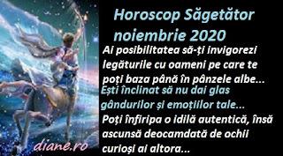 Horoscop Săgetător noiembrie 2020