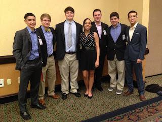 Montgomery Catholic Students Show Leadership at YMCA Youth Legislature 1