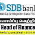 Vacancy In SDB Bank