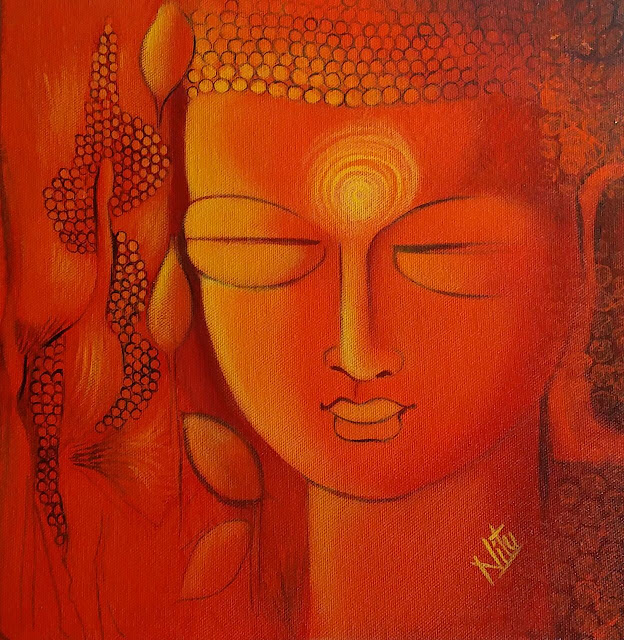 """The Buddha Path, One of Seven:  """"Your worst enemy cannot harm you as much as your own thoughts unguarded."""" ~Buddha"""