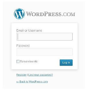 How do I log-in? A note on WordPress.com login