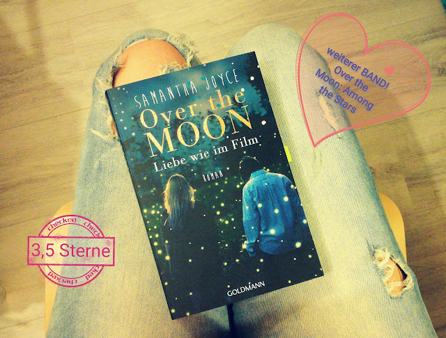 Cover von Over the Moon: Liebe wie im Film by Samantha Joyce