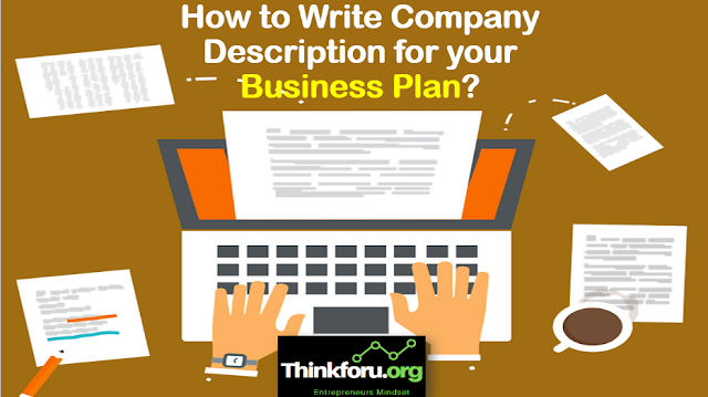 Cover Image of Business or company description : How to Write Company Description for your Business Plan?