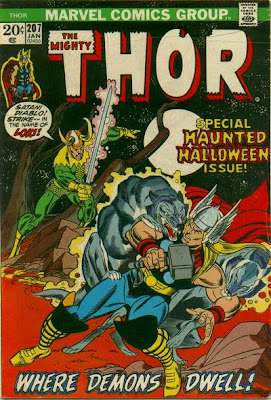 Thor #207, Loki, Halloween issue