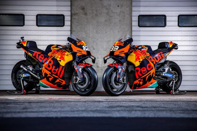 Ini Gambar Livery KTM Pabrikan Di MotoGP 2021