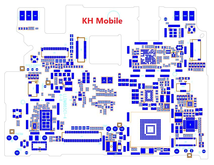 Redmi Note 3 (MTK) Schematic & Layout Diagrams  JMH