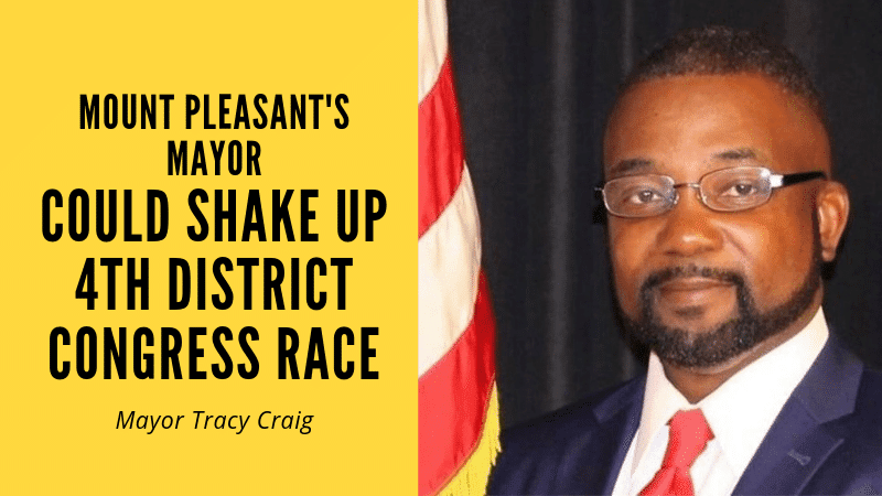 Mount Pleasant Mayor Tracy Craig beat Bill Ratliff's son in a landslide - could he soon be a U.S. Congressman?