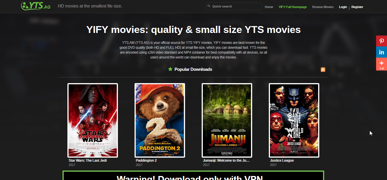 yify watch free movies download