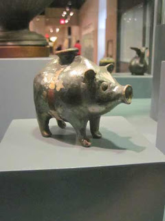 Pig Shaped Pot At The Royal Ontario Museum