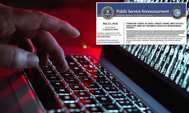 The Russian suspect program is affecting Internet users around the world, FBI