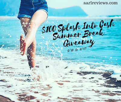 Enter the $100 Splash Into Cash Summer Break Giveaway. Ends 6/7