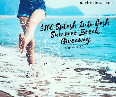 Enter the $100 Splash Into Cash Summer Break Giveaway. Ends 6/7