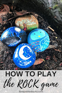 how to play the kindness rocks game for beginners