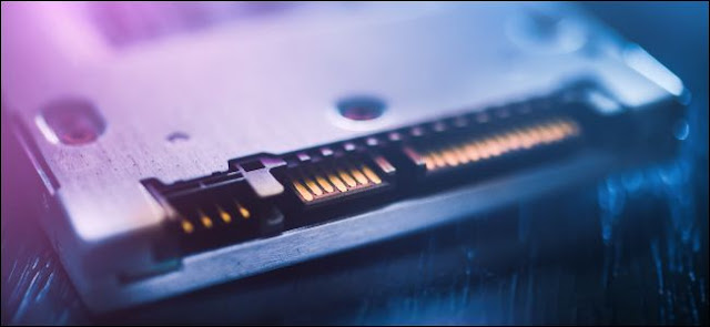 منفذ SSD SATA