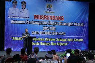 Walikota Cirebon, Tanpa Dukungan Semua Pihak Visi Dan Misi Kota Cirebon Tidak Akan tercapai