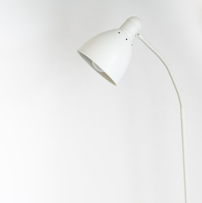 White spotlight lamp