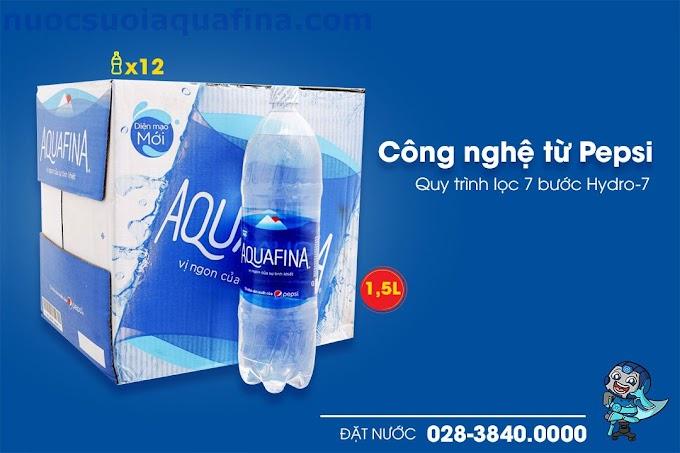 Nước tinh khiết Aquafina chai 1.5L