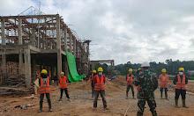 Zidam XII/TPR ingatkan K3 dan Prokes Pekerjaan di Kodim Bengkayang