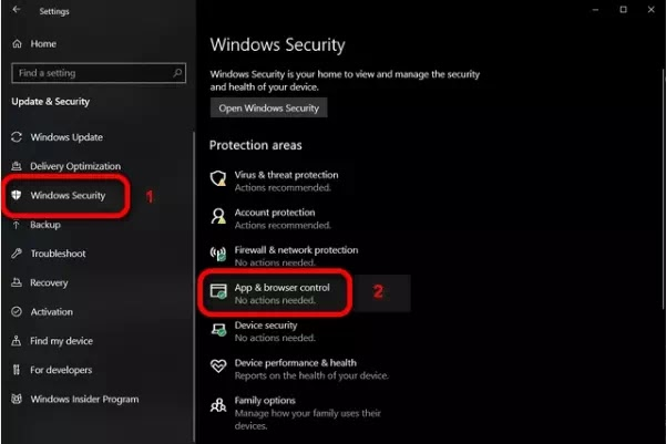 Cara Menonaktifkan Filter SmartScreen di Windows 10-2