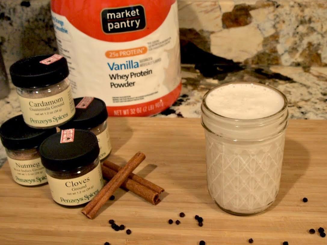 Chai Protein Shake Recipe