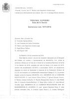 Resolución Tribunal Supremo