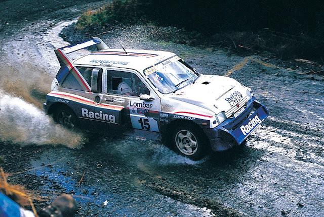 Jimmy Mcrae MG Metro 6R4 Rally car