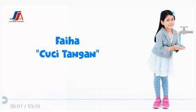 Lirik Lagu Faiha Cuci Tangan