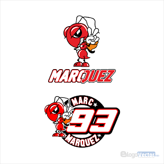 Marc Márquez Logo vector (.cdr)